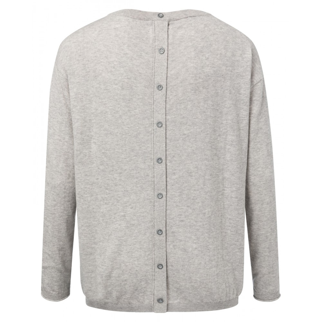 Sweater With Buttons Grey 2