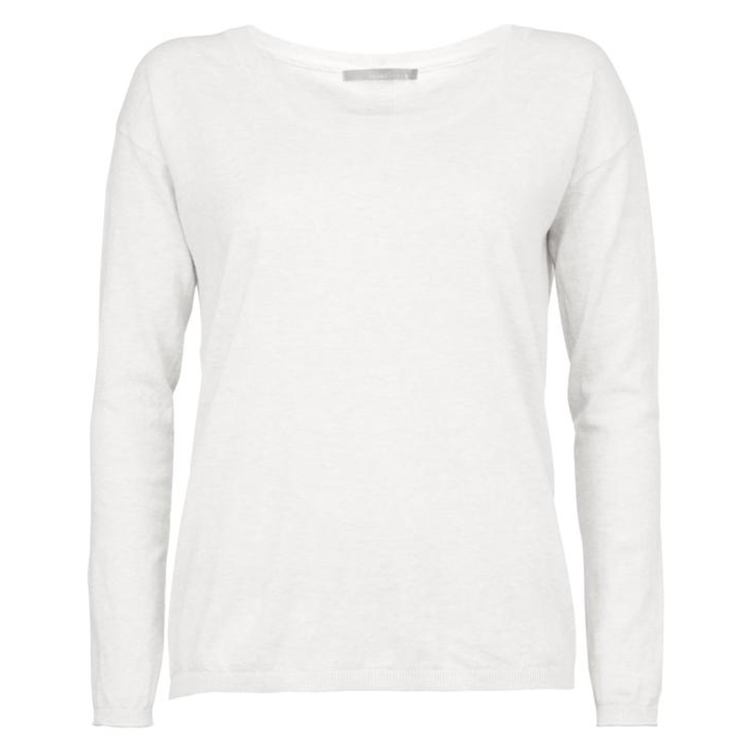 Sweater With Buttons White